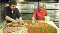 Making-a-huge-pizza